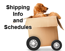 Shipping Schedules Including Holidays